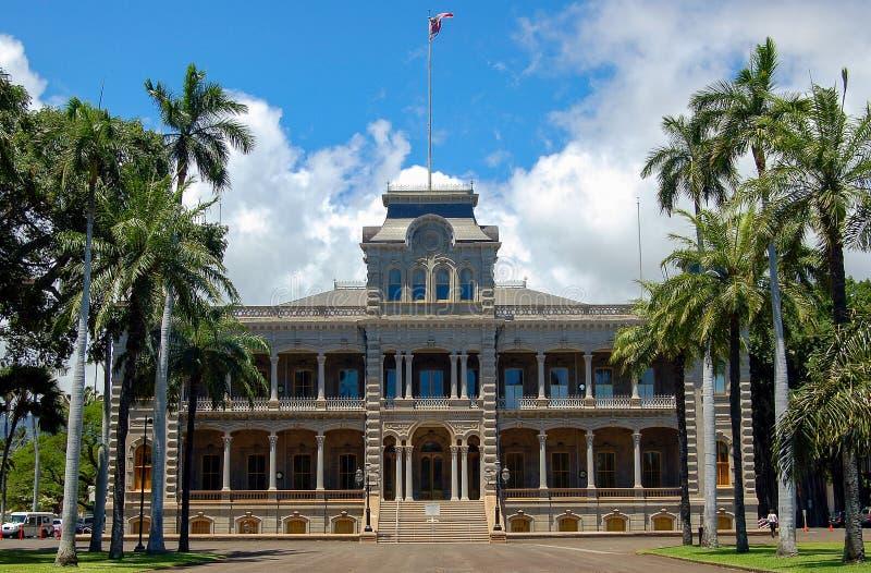 Дворец Iolani - Гонолулу стоковое изображение rf