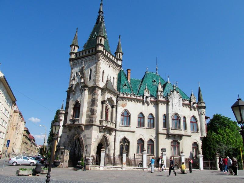 Дворец Jakab в Kosice, Словакии стоковое фото