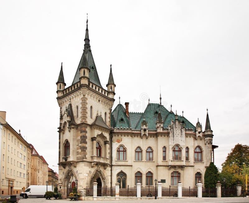Дворец Jakab в Kosice Словакия стоковые изображения rf