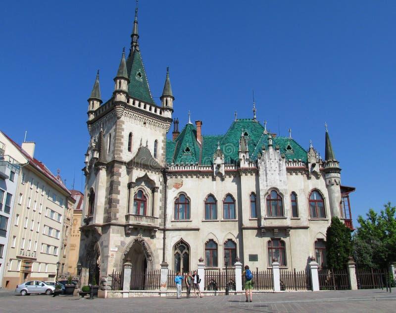 Дворец Jakab в Kosice стоковая фотография rf
