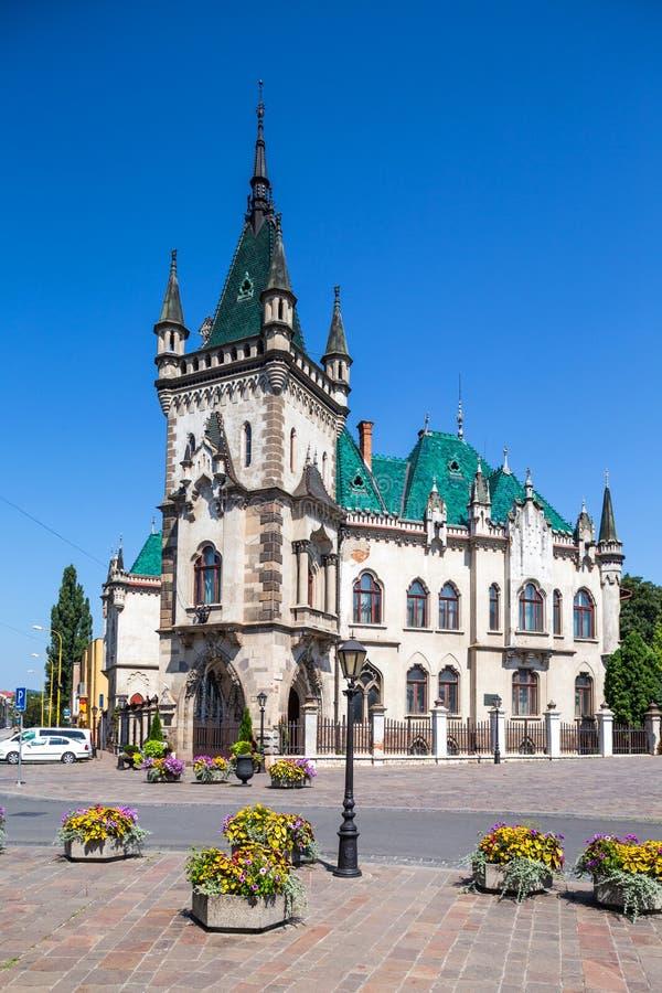 Дворец Jakub в Kosice, Словакии стоковое изображение