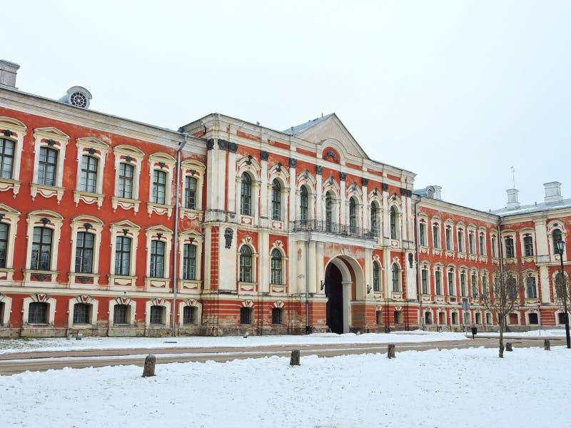 Дворец Jelgava, Латвия стоковые изображения