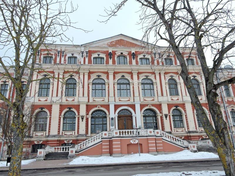 Дворец Jelgava, Латвия стоковое фото