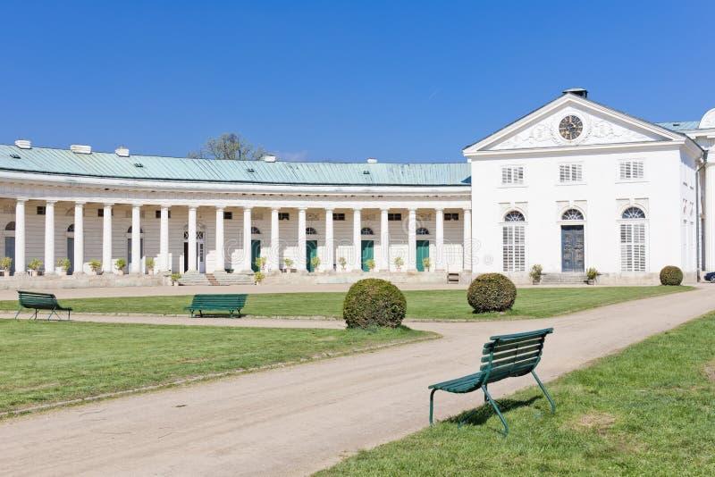дворец kacina стоковое изображение rf