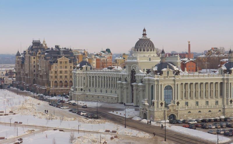 дворец kazan хуторянин стоковое изображение