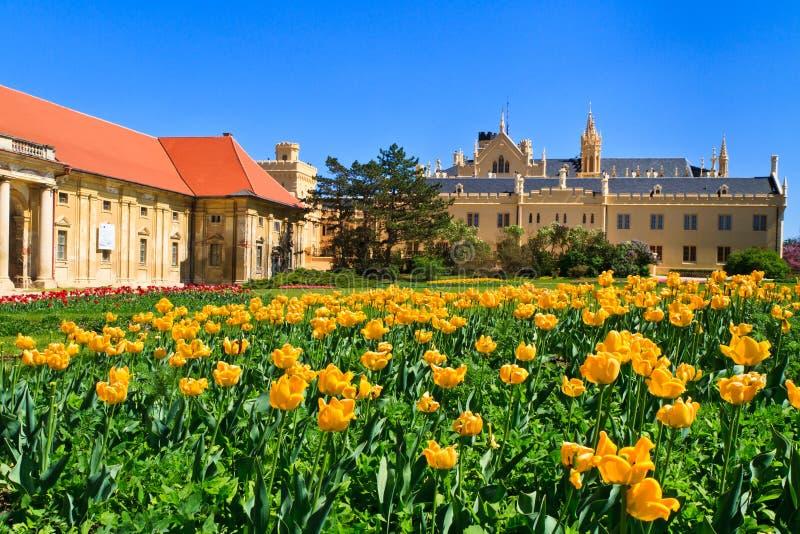 Дворец Lednice и сады, Чешская Республика стоковая фотография