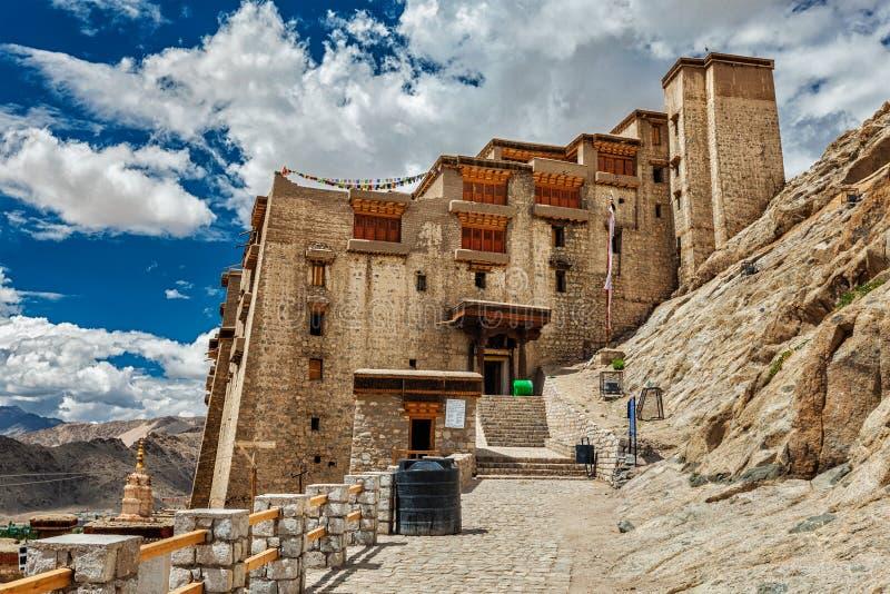 Дворец Leh, Ladakh, Индия стоковая фотография rf