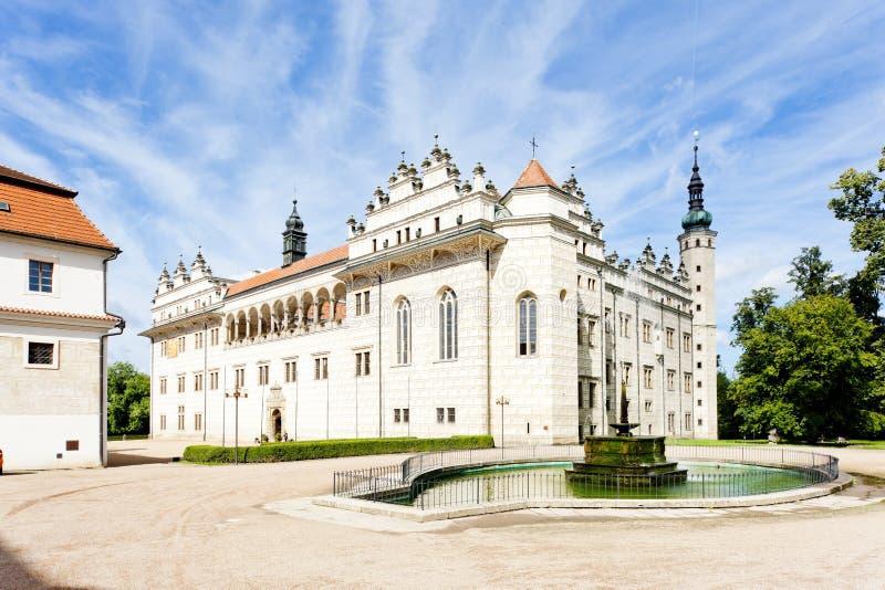 дворец litomysl стоковое фото