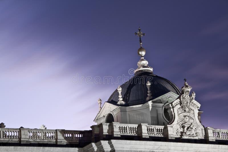 дворец Madrid королевский Стоковое Фото