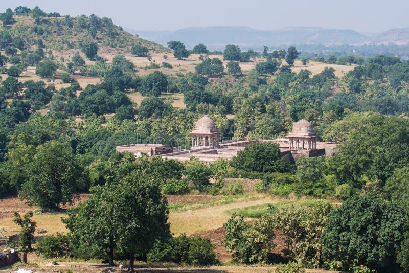 Дворец Mandu Baz Bahadur стоковая фотография rf