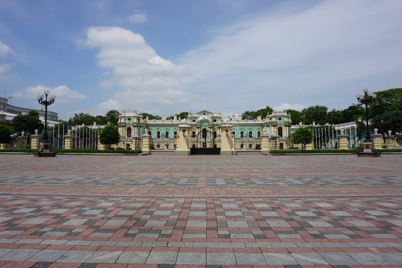 Дворец Mariyinsky стоковые фотографии rf