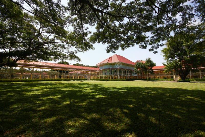 Дворец Maruek Kathayawan тайского короля Rama VI стоковые фотографии rf