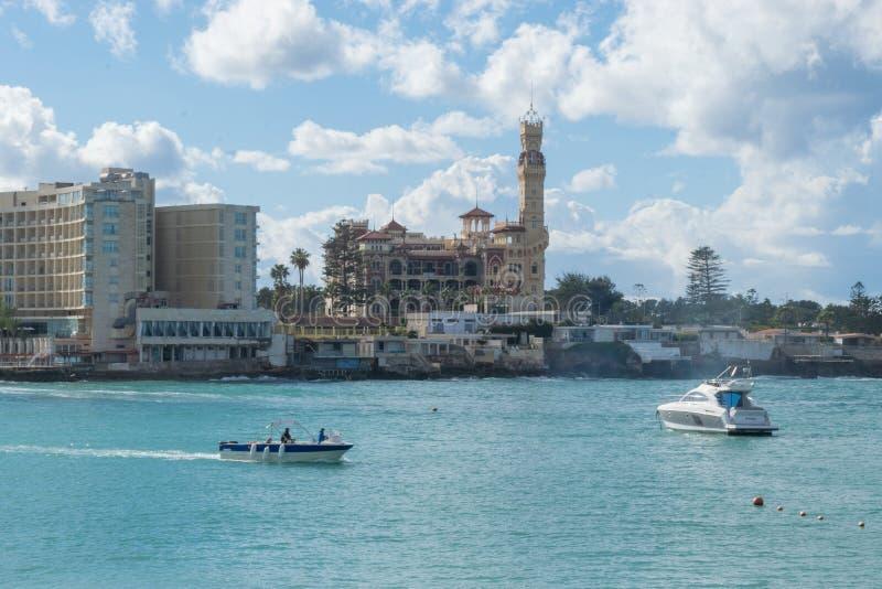 Дворец Montaza в Александрия Египте стоковое фото