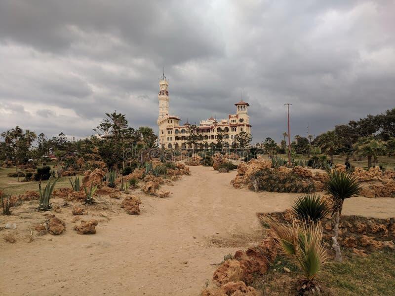 Дворец Montazah стоковая фотография