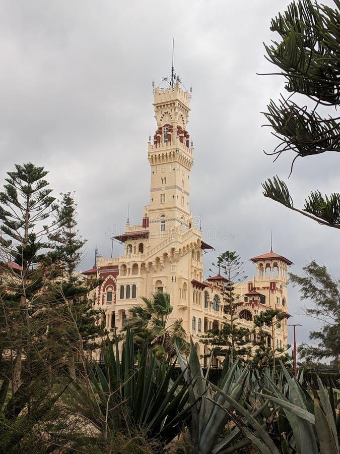 Дворец Montazah стоковое фото rf
