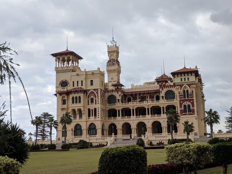 Дворец Montazah стоковая фотография rf