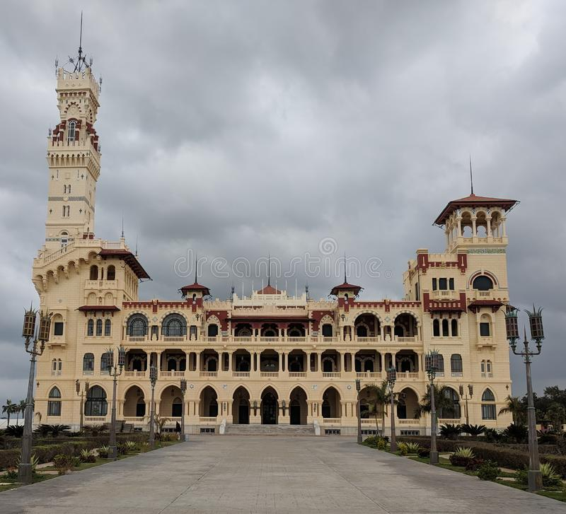 Дворец Montazah стоковые фото