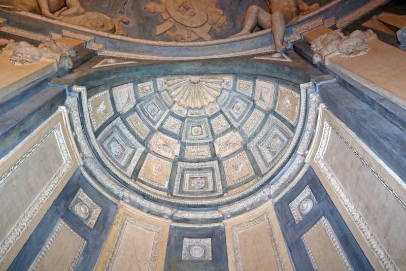Дворец Nicolosio Lomellini стоковые фото