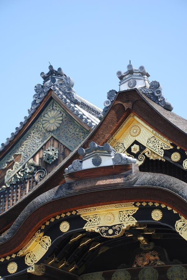дворец ninomaru kyoto стоковое изображение