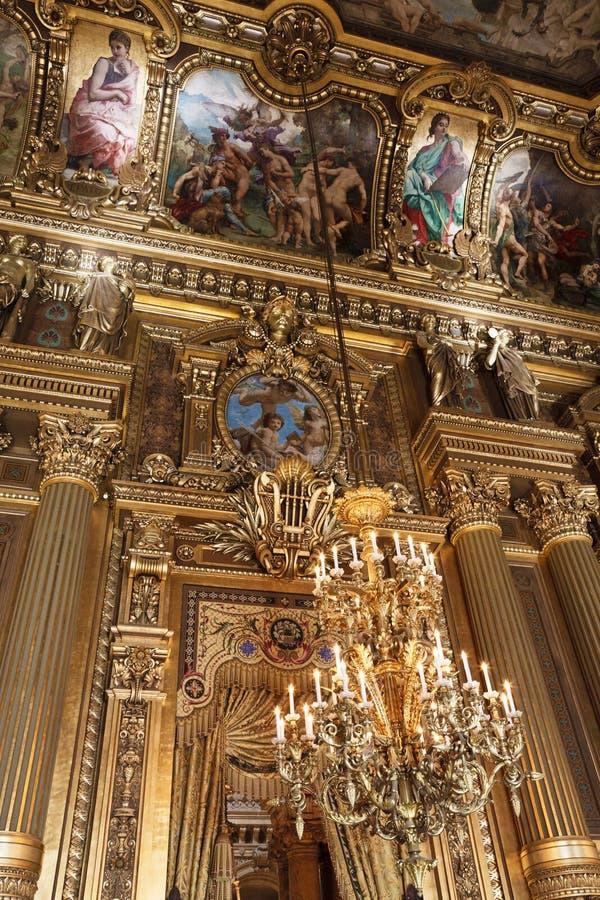 дворец paris оперы Франции более garnier стоковые фотографии rf