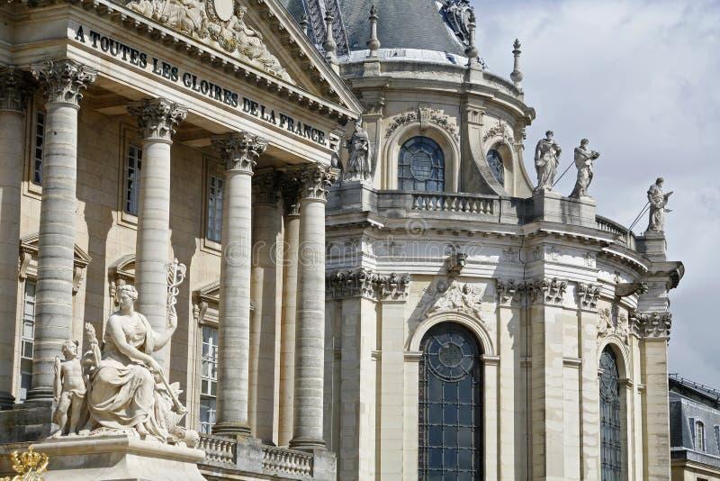 дворец paris versailles детали стоковое фото rf