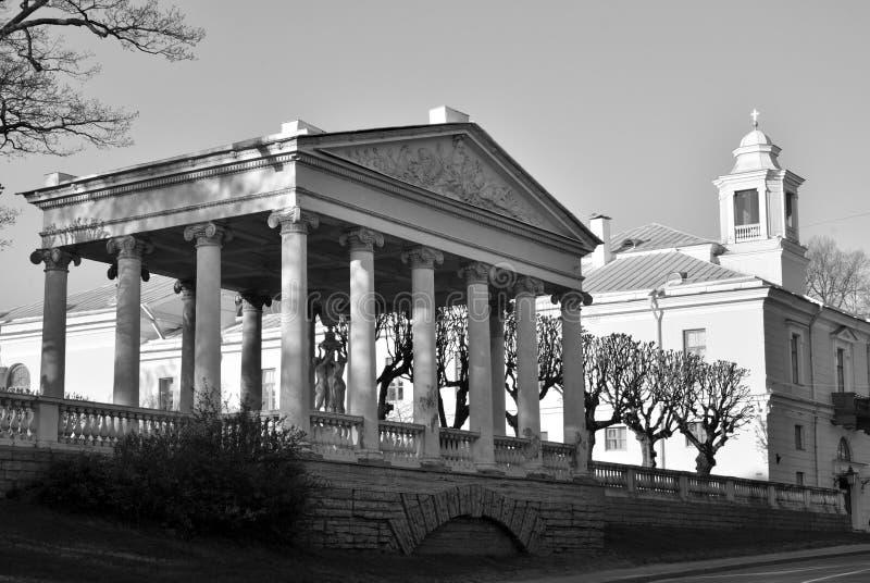 дворец pavlovsk Россия стоковое изображение
