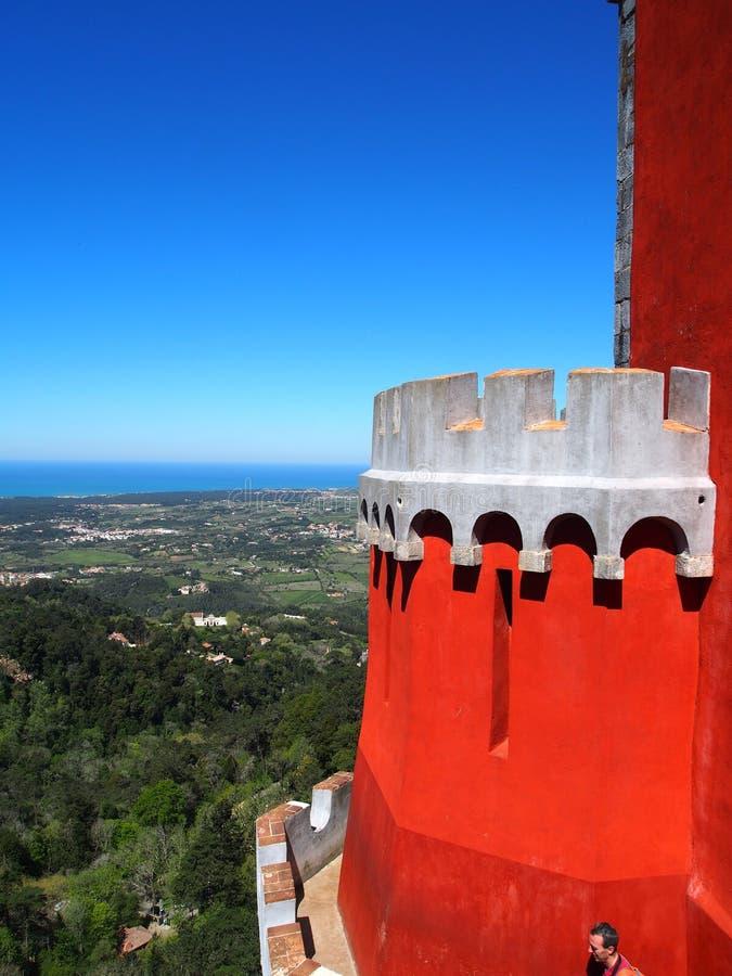 Дворец Pena в sintra Португалии стоковые фото