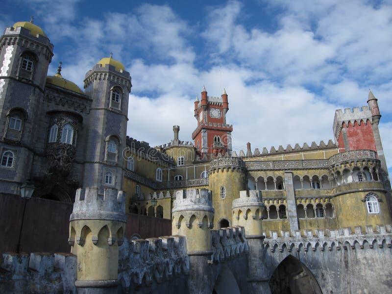 Дворец Pena стоковые фотографии rf