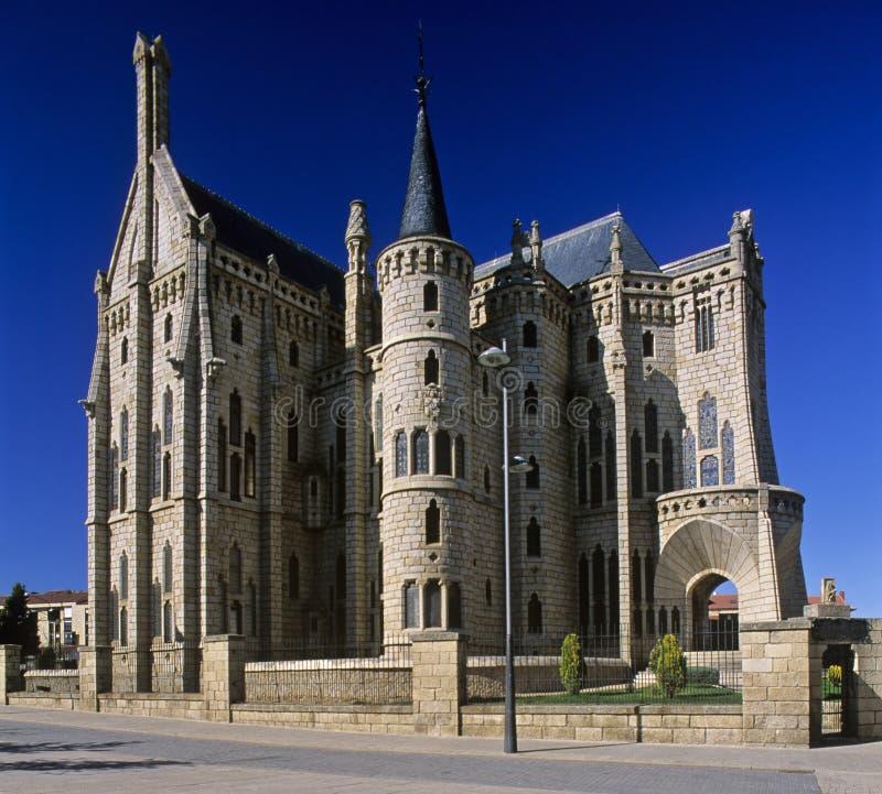 дворец s епископа 3 astorga стоковая фотография rf