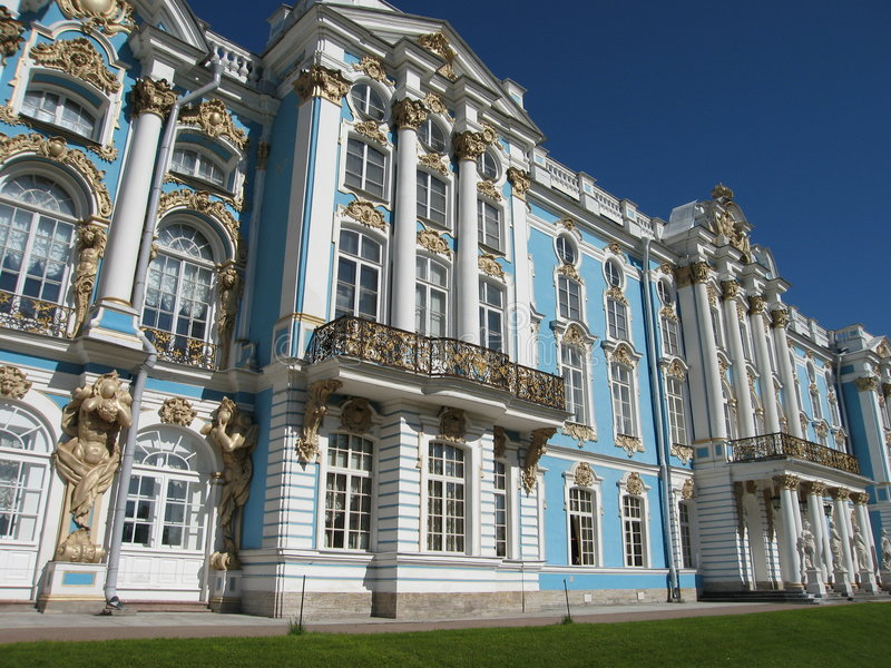 дворец s caterina стоковое изображение