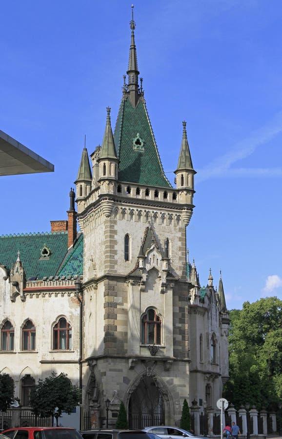 Дворец ` s Jakob в Kosice, Словакии стоковое фото