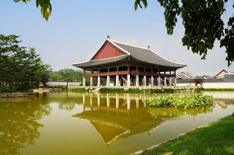 дворец seoul императора стоковые изображения