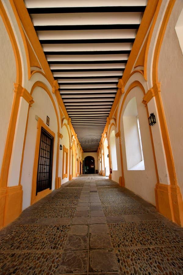 дворец sevilla стоковая фотография rf