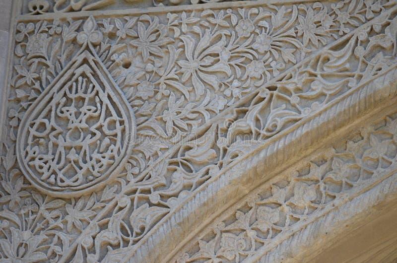 Дворец Shirvanshahs в старом городке Баку, столицы Азербайджана стоковое фото