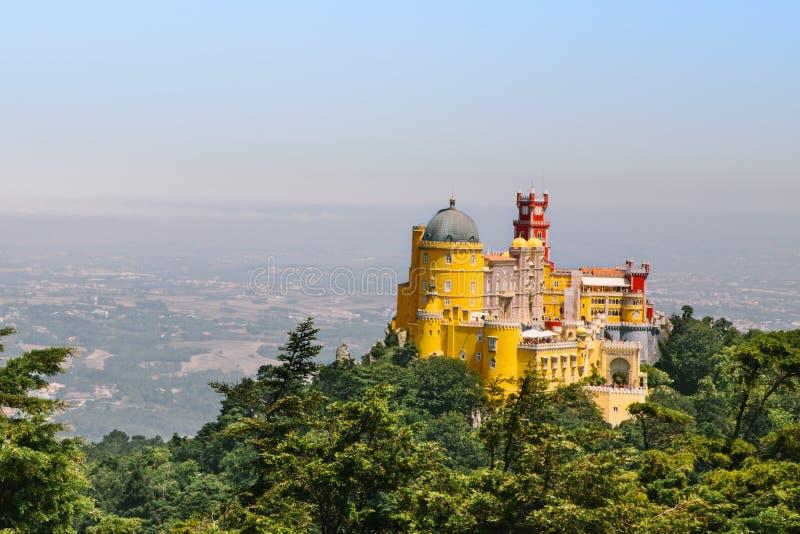 Дворец Sintra Pena стоковое изображение rf