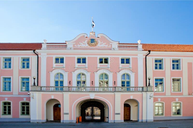 Дворец Toompea, Таллин стоковое изображение