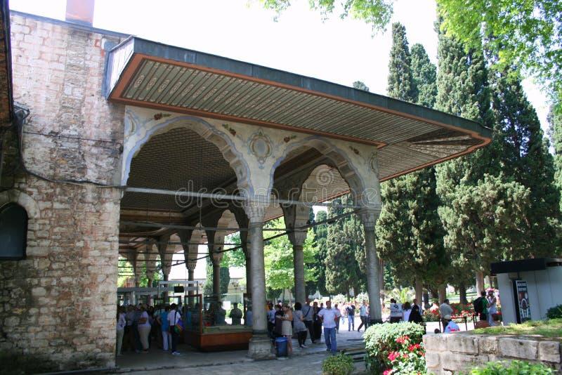 Дворец Topkapi стоковая фотография