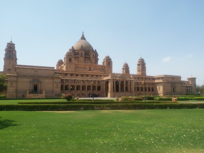 Дворец Umed bhawan стоковая фотография