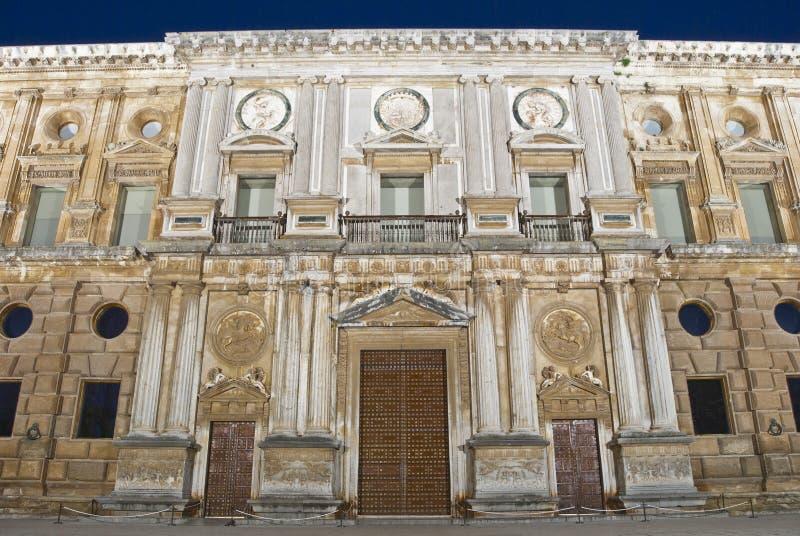 дворец v carlos стоковое фото