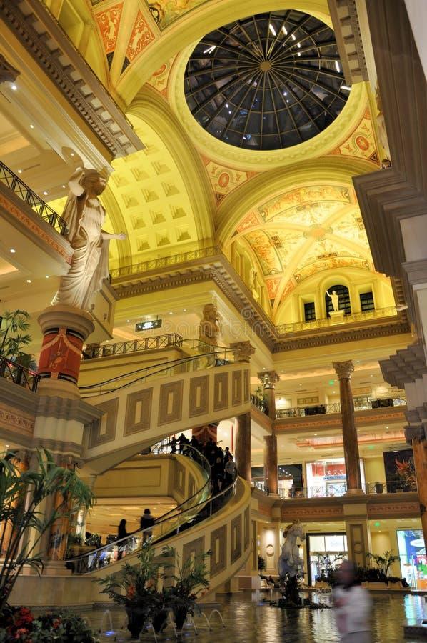 дворец vegas las caesars стоковые фото
