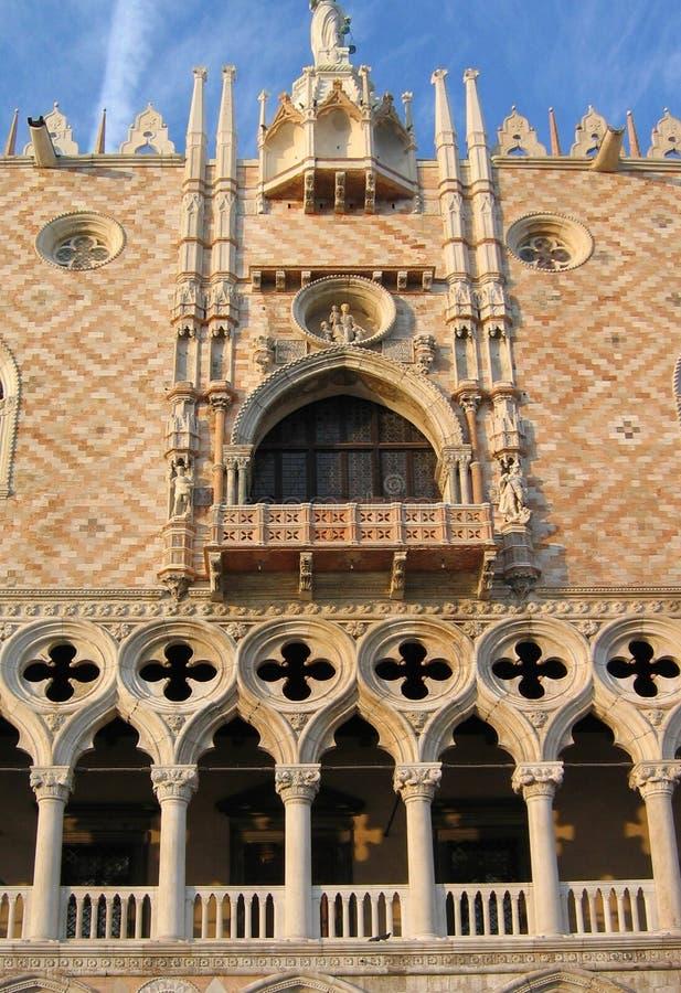 дворец venice doges стоковые изображения rf