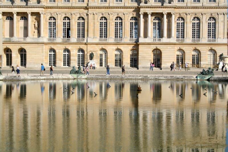 дворец versailles Франции стоковые изображения rf
