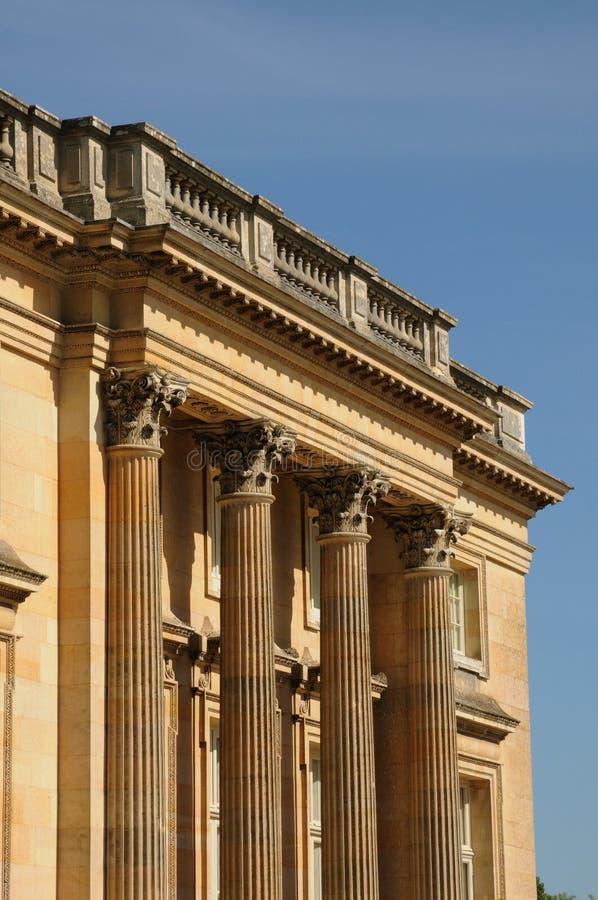 дворец versailles стоковая фотография rf