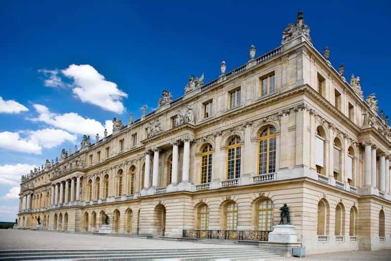 дворец versailles стоковые изображения rf