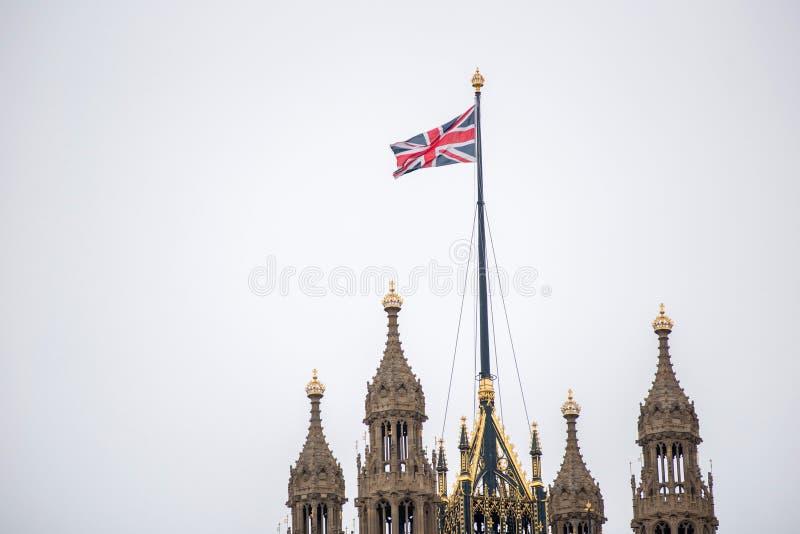 дворец westminster london стоковое изображение rf