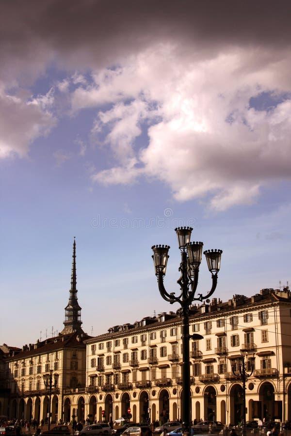 дворцы turin стоковые фотографии rf