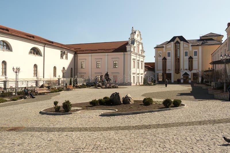 Двор вне церков Vinnitsa стоковые фото