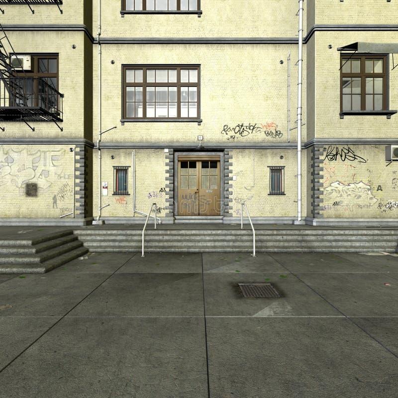 двор города бесплатная иллюстрация