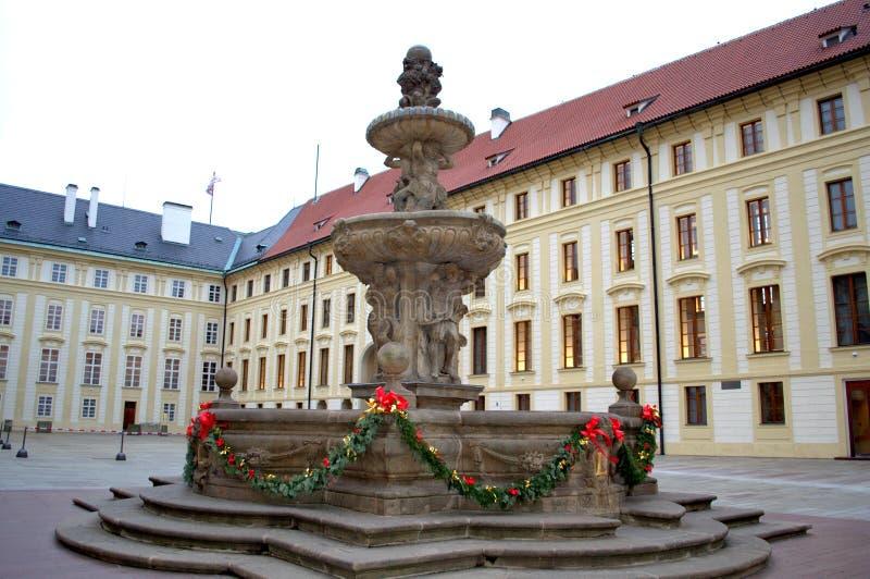 Двор замка Праги стоковые фото