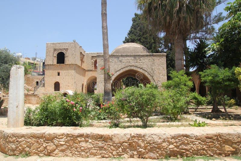 Двор Agia Napa суда монастыря стоковые фотографии rf